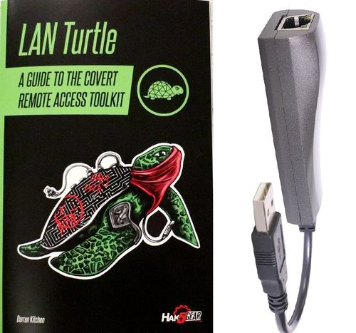 LAN Turtle SD + Book
